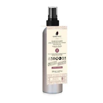 elixir de karité tonique et après shampoing bio